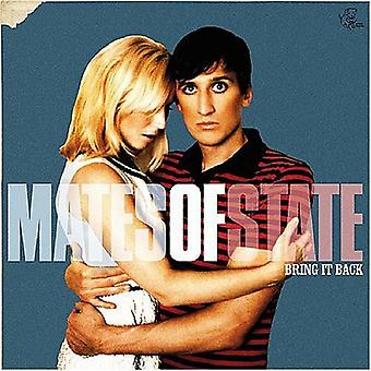 Mates of State - Bring It Back [CD] USA import