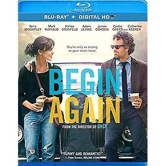 Begin Again [BLU-RAY] USA import