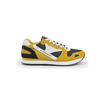 U.S. Polo Assn. - Schuhe - Sneakers - FLASH4117S0-YM1-YEL-DKGR - Herren - yellow,dimgray - EU 44