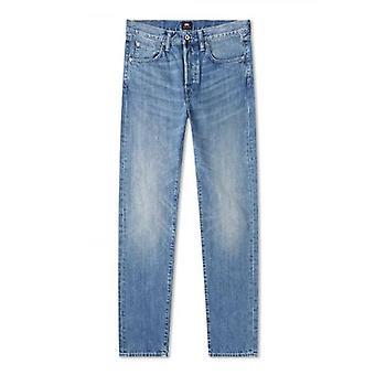 Edwin Rauha Wash ED-55 Kingston Blue denim Regular taps toelopende jeans
