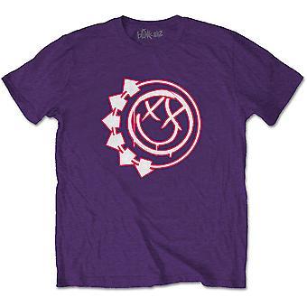 Blink-182 Seks Arrow Smiley Officielle Tee T-shirt Herre Unisex