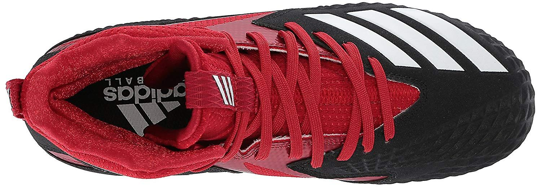 Adidas Menns Freak X Karbon Midt Baseball Sko