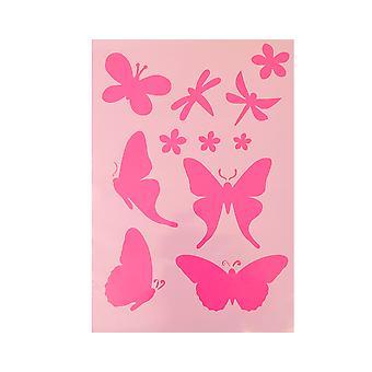 A5 Butterfly en Dragonfly Stencil voor Ambachten | Ambachtelijke snijgereedschappen