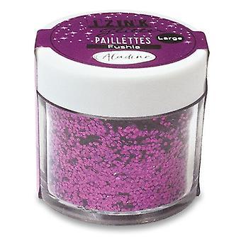 Aladine Izink Glitter Pot Fuchsia 15gr.