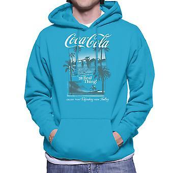 Coca Cola Surfers den virkelige ting mænd ' s hættetrøje