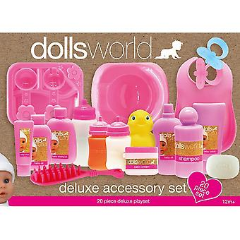Dolls World Deluxe Doll Accessory Play Set Toy