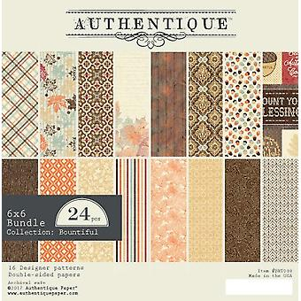 Authentique 6x6 Paper Pad Bountiful