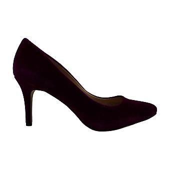 Charter Club Womens Zitah Velvet Pointed Toe Classic Pumps