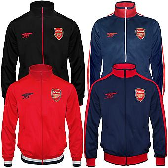 Arsenal FC officiella fotboll gåva Mens Retro Track Top Jacket