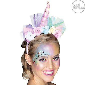 Une licorne pour cheveux LED incl. batteries bijoux de cheveux