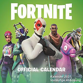 Fortnite Calendar 2021 Official Calendar 2021, 12 months, original English version.