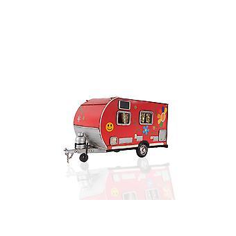Red Camper Trailer Model Tissue Holder