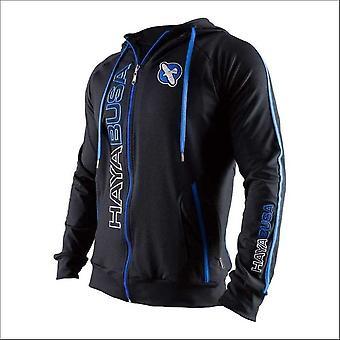 Hayabusa prime hoodie - blue - size small
