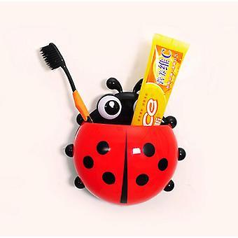Roztomilý Cartoon Beruška hmyzu zubní kartáček zubní pasta držák pro koupelny