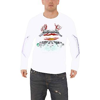 Metallica T shirt meester van marionetten band logo officiële mens lange mouw