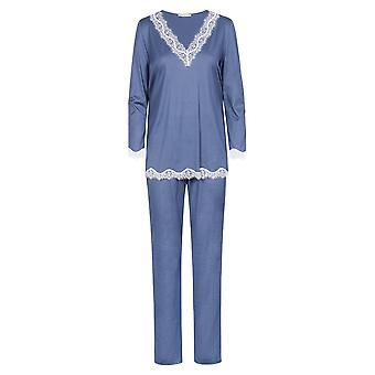 Féraud High Class 3201163-11752 Women's Deep Sea Cotton Pyjama Set