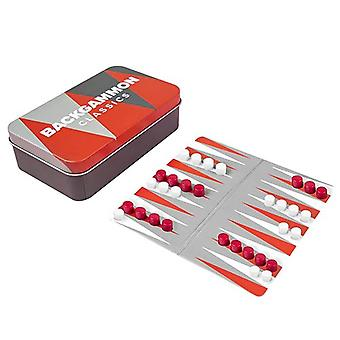 Classic Mini Backgammon Magnetic Travel Game