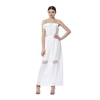 Silvian Heach White Dress SI995364-XXS