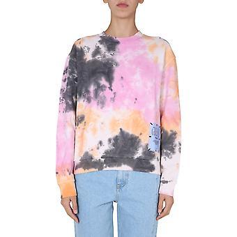 Mcq Door Alexander Mcqueen 624676rpj521169 Women's Multicolor Cotton Sweatshirt
