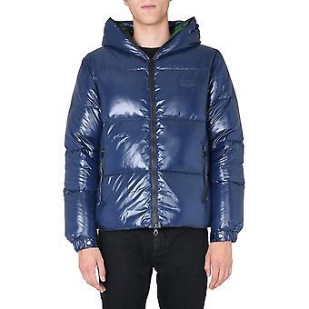 Duvetica U5030002s021035r779 Men's Blue Polyester Down Jacket