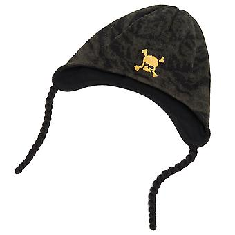 Oakley hombres cráneo beanie bombardero corbatas montaña polar fleece sombrero