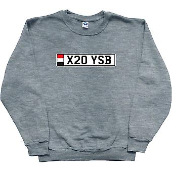 Moletom de cinza X20 YSB