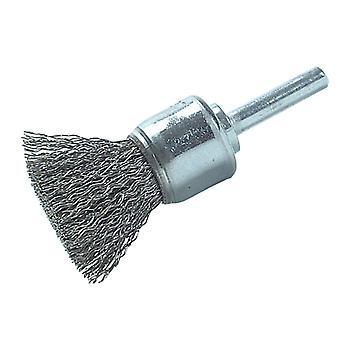 Lessmann DIY End Brush 25mm 0.30 Steel Wire LES45516107