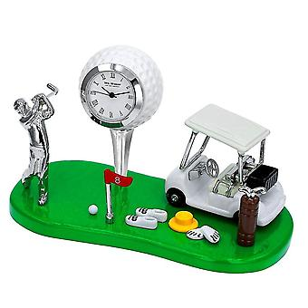 Widdop & Co. Golf Thema Miniatuur Klok