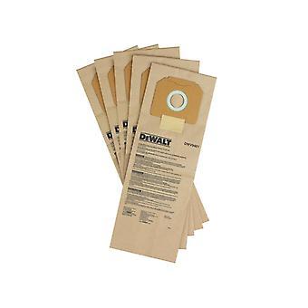 DEWALT DWV9401 Paper Dust Bag (Pack 5) DWV9401-XJ