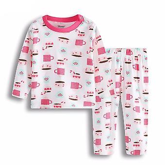 Neue Baby Mädchen Sleepwear Anzüge Pyjamas