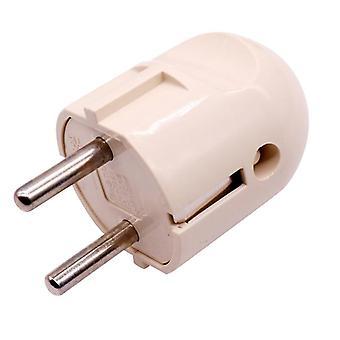 1 Pcs European French German Power Plug Electrical Socket Accessories A B C D Optional