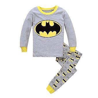 漫画プリントナイトウェアパジャマ、ベビーパジャマ服