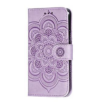 حافظة محفظة لـ Huawei P30 Lite Purple BEFOSPEY-208