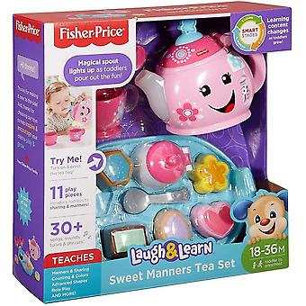 Fisher price laugh and learn sweet manners tea playset,​​30 plus songs, sounds,