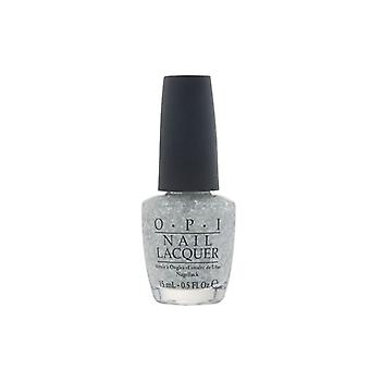 OPI Nail Lacquer Pirouette My Whistle 15ml Colour Polish Manicure Varnish Silver