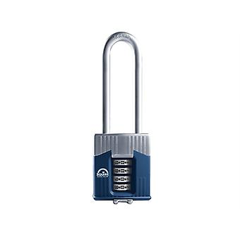 Henry Squire Warrior High-Security Long Shackle Combination Padlock 45mm