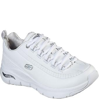 Skechers Womens/Ladies Arch Fit Citi Leather Trainers
