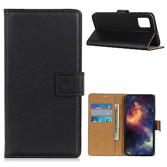 Motorola Moto G9 Plus Wallet Case - Zwart