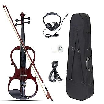 Elektrische Violine Basswood Fiddle mit Fall Cover Bow