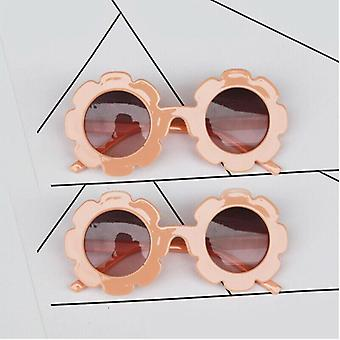 Round And Flower Shape Kids Sunglasses