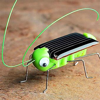 Super educational solar powered heinäsirkka robotti lelu gadget