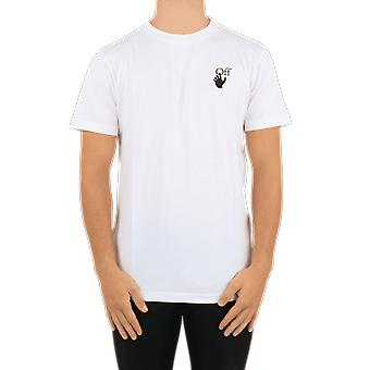 OFF WHITE Pascal Arrow S/S Slim Tee White OMAA027F20FAB004110 Top