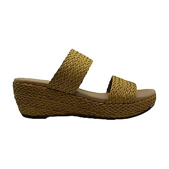 Anne Klein Womens Zala Open Toe Casual Platform Sandals