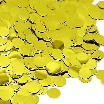 Sassier - Bordskonfetti | Konfetti Guldfärgad 30g