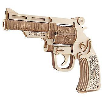 Çocuk zekası geliştir Ahşap 3D Bulmaca 109 adet - Revolver