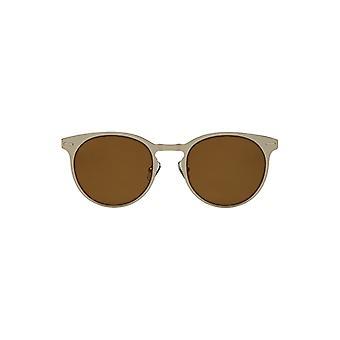 Louche Womens Kiko Round Sunglasses Gold