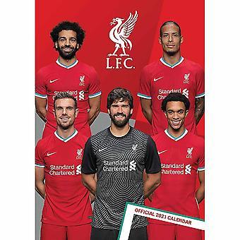 Liverpool FC 2021 Wall Calendar