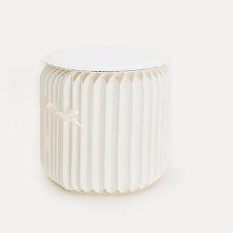 Incrível papel/banco de papel dobrável portátil kraft