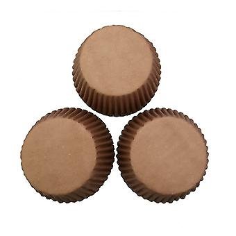 Brown Muffin Cups Paper Cupcake Baking Cups Muffin Baking Cups Sets of 100pcs