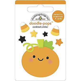 Doodlebug Design Roly Poly Pumpkin Doodle-Pops
